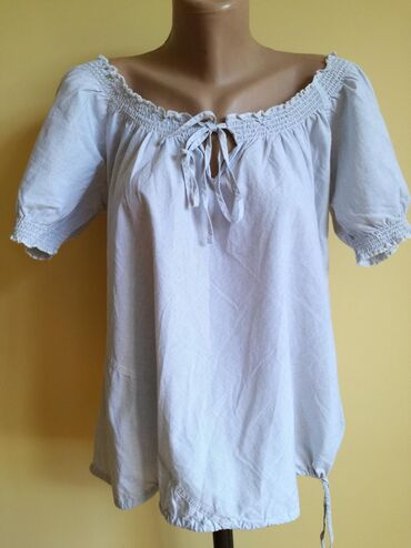 Majica pamucna xl - Srbija: Pamucna majica iz uvoza. Odgovara za xl, jaci l. Na prugice