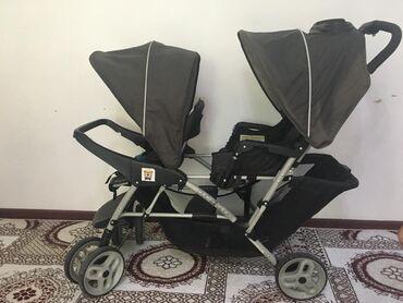 usaq kravati в Кыргызстан: Для детей-погодок или близнецов. Отличная коляска куплено в Америке
