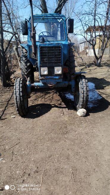 Грузовой и с/х транспорт - Теплоключенка: Трактор Мтз 80 в отличном сост огригатами прцеп тошкентски култиватор