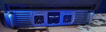 Электроника - Исфана: Усилитель max-800 2000 кВт /срочно продаётся/
