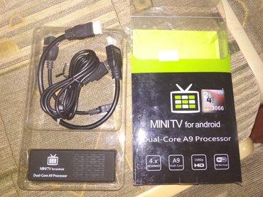 Андроид приставка к телевизору через HDMI  б/у в Кок-Ой