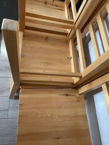 питомник хаски бишкек в Кыргызстан: Продаю стулья из сосны. Очень качественно сделано. 6 штук