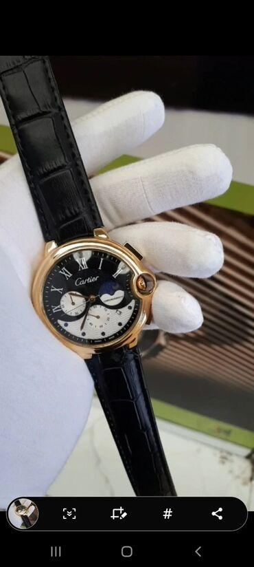 Qol saatları - Qobu: Cartier orjinal saatlati yalniz bizde munasib qiymetdir basqa kitay