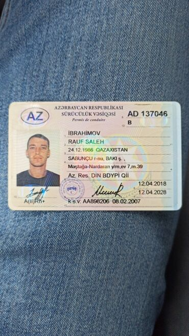 срочно ищу работу в Азербайджан: Ищу работу водителем