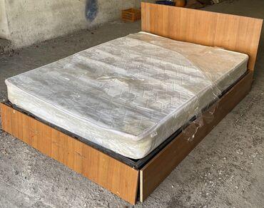 двуспальное овечье одеяло в Кыргызстан: Продаю б.у кровать в хорошем состоянии. Вместе с матрасом В наличии ес
