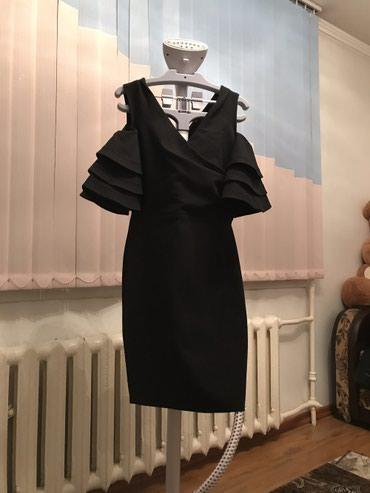Черное платье(коктейльное)1500с в Бишкек