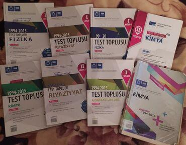 tqdk test toplusu в Азербайджан: Tqdk Test Toplusu Kimya,Fizika,Riyaziyyat,Azerbaycan dili