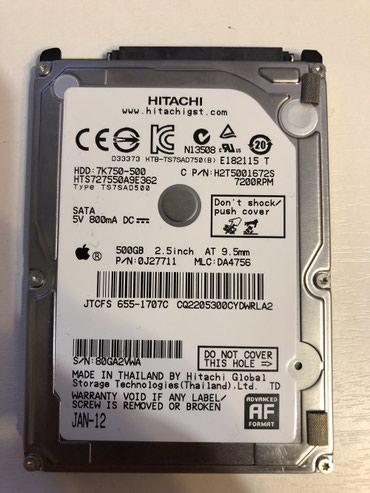 жесткие диски satai в Кыргызстан: Жесткий диск для ноутбука 500GB почти новый