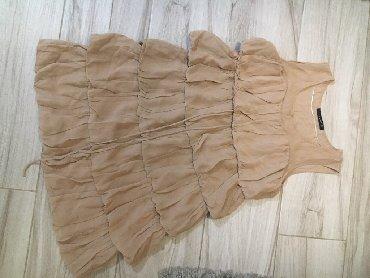 Duzina grudi poluobim - Srbija: Zara haljina vel.LDuzina 93cmStruk sirina 50cm (poluobim) Grudi