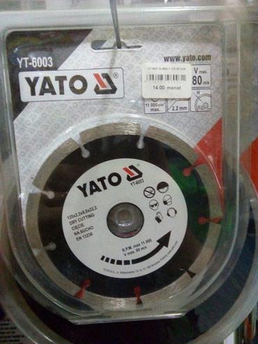 almaz naxış yaradıcılığı üçün uşaq dəsti - Azərbaycan: YATO YT-6002 disq almaz F115 beton polsa malidi keyfiyyetli elana