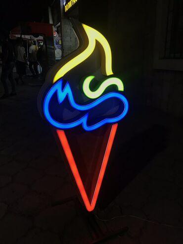 Макет для хорошей продаж мороженое  С лампой двухсторонный