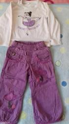 Pantalone i bluza u dobrom stanju. Velicina 2 - Smederevo