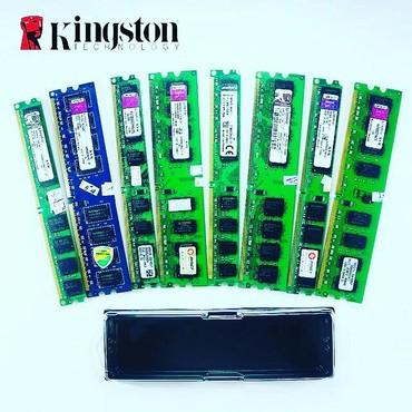Ddr2 2gb pc ram kingstonOrginalQiyməti 15mİstənilən mhz - də