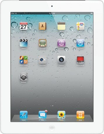 Планшет iPad 2 MC983 (Wi-Fi+3G, 32 GB, White) в Бишкек