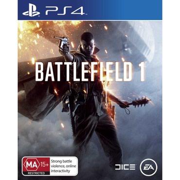 Bakı şəhərində Battlefield 1