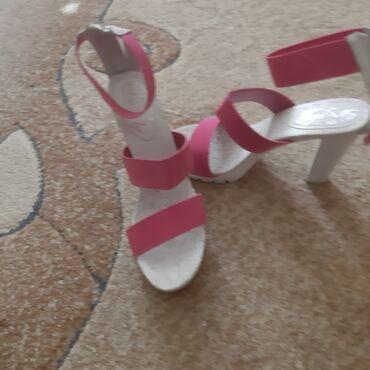 Replay - Srbija: Original replay sandale. Br 38. Visina pete 11cm. Jednom obuvene. Jos