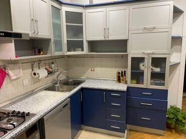 qaz satilir в Азербайджан: Кухонный мебельный гарнитур | Аспиратор, Газовая печь