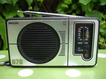 Odličan i kvalitetan mali džepni radio tranzistor PHILIPS 070 iz - Novi Sad