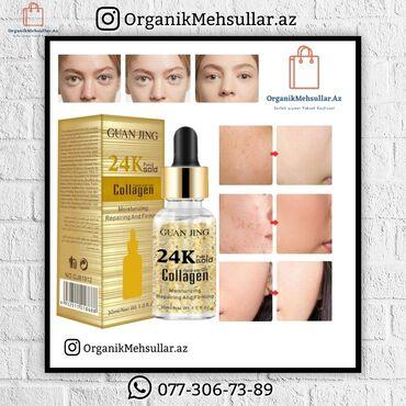 📌 Guan Jing 24K purel gold Collagen ( 24K qızıl serum )♦️Qiymət: 9.90