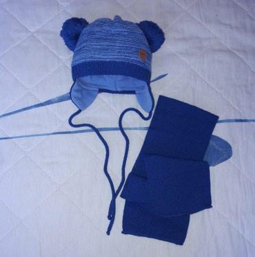 Зимний комплект шапочка и шарфик, в Бишкек