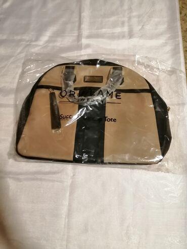 NOVA ORIFLAME torba za laptop i dodatan materijal/priborIma dodatan