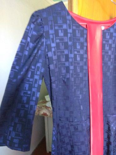 теплое платье батал в Кыргызстан: Платье теплое на осень .Фирма Gulzara©Размер: 38платье новое,не