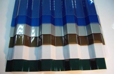 Поликарбонат Монолитный 0,9мм 1,05 х 6метров. Цвета разные