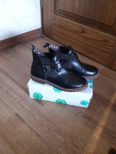 Женские ботиночки, осень, размер 37, в хорошем состоянии. в Бишкек