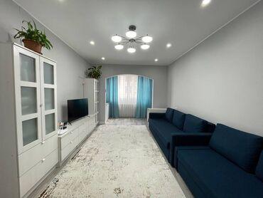 Продажа квартир - Север - Бишкек: 106 серия улучшенная, 3 комнаты, 82 кв. м Дизайнерский ремонт, Лифт