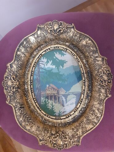 Jakna sa krznom - Srbija: Goblen sa ramom
