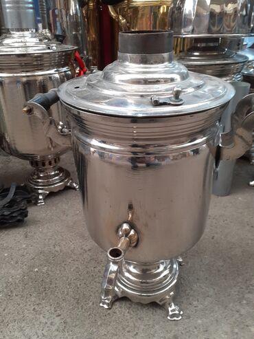 Kömür odun - Azərbaycan: 5 litir komur samavari