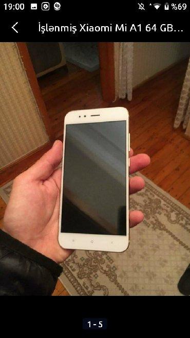 xiaomi-mi-a1 в Азербайджан: Б/у Xiaomi Mi A1 64 ГБ Белый