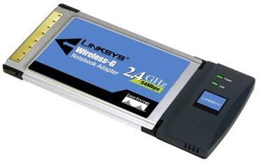Cisco-Linksys WPC54G-WB Wireless-G для ноутбуков в Бишкек