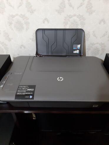 HP Deskjet-1050 rəngli printer.Katricləri yoxdur,bitib.Amma skaneri