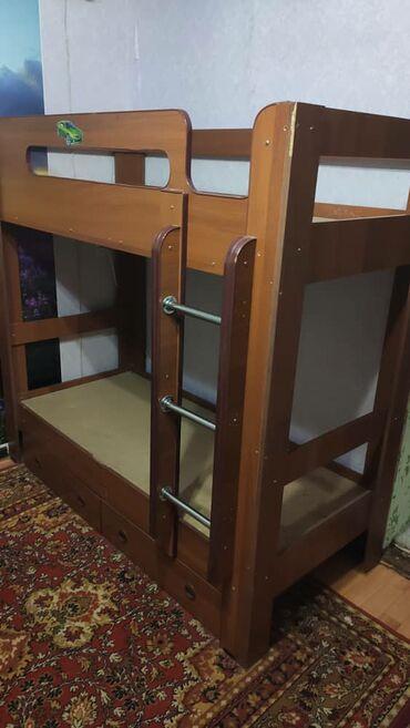 Продаю 2х ярусную кровать б/ у за 5000с