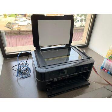 6 цветный фото принтер / МФУ 3 в 1 Epson PX660, отпечатано 2000