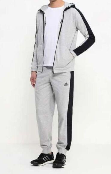 Ателье по пошиву мужских костюмов - Кыргызстан: Спортивный костюм adidas оригинал.Пару раз одевали, в отличном
