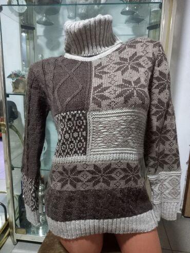 Ženska džemperi - Srbija: Ski rolka džemper vel S/M Veoma topao, Turska proizvodnja