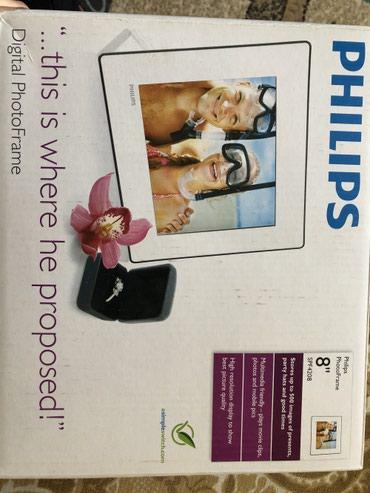 Цифровая фоторамка Philips. Открыли, но не пользовались. в Бишкек