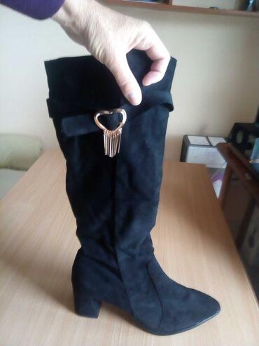 Προσωπικά αντικείμενα - Ελλαδα: Πωλούνται μπότες γυναικείες καινούργιες νούμερο 46, στενή φόρμα