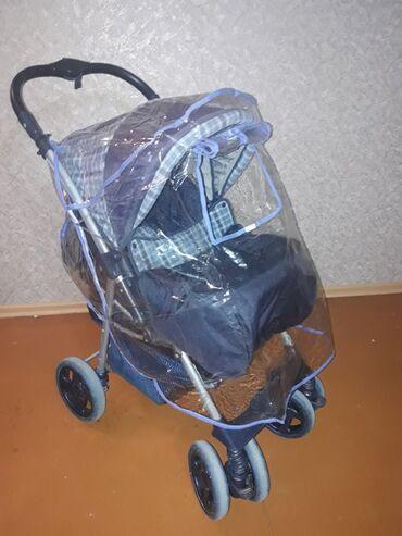 Продаю детскую коляску б/у, будет актуальна( три положения) с рождения