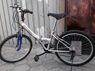 горный велосипед без скоростей в Кыргызстан: Велосипед Корейский складной подростковый 24 диск     Велосипед Корейс