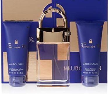 "MAUBOUSSIN ""Promise me "" eau de parfum France 90ml и подарочный сет"