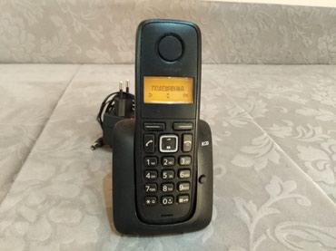 Siemens-cl75 - Srbija: Lep Siemens bezicni fiksni telefon. Potpuno ispravan sa svojom bazom i