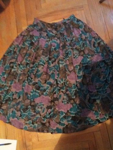 MODERNO....Suknja...malo nosena ..kao nova...bez ostecenja...cvetni - Bor