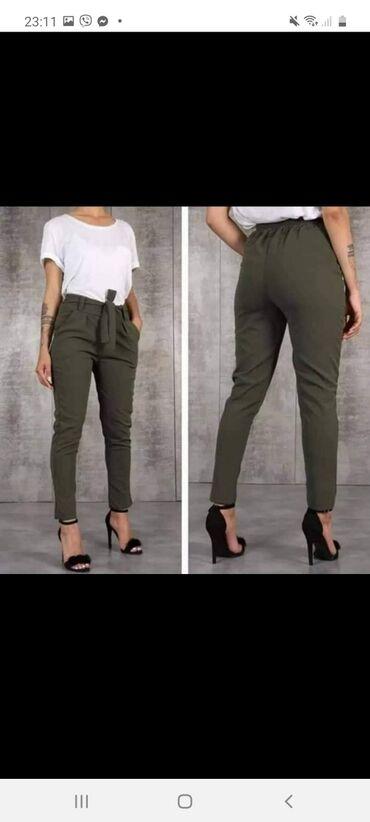 ‼Pantalone poliester elastin‼✔Velicine S M L XLCena 1450din komDvoje
