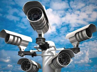 Камеры-видеонаблюдения - Кыргызстан: Камеры домашнего видеонаблюдения, полный комплект