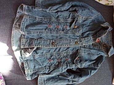 Dečije jakne i kaputi | Krusevac: Teksas košuljica ili jaknica za devojčice.Velicina je 1 ali moja ćerka