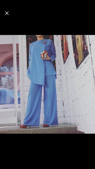 Стильный костюм отименитого дизайнера!  Без броши продается! в Бишкек