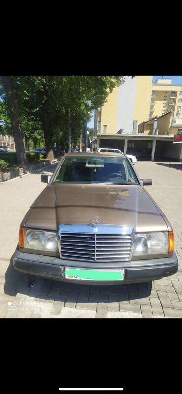 Транспорт - Кожояр: Mercedes-Benz E 230 2.3 л. 1987